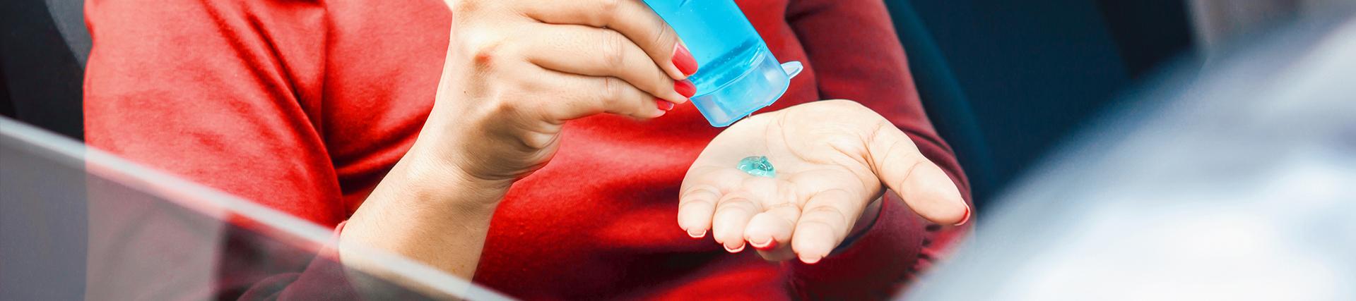 Hand Sanitizer Header